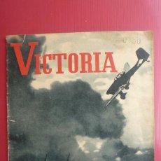 Militaria: 'VICTORIA' REVISTA ALEMANA DE INFORMACIÓN SOBRE SUS CAMPAÑAS EN LA II GUERRA MUNDIAL. Nº 1... Lote 130069919