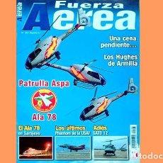 Militaria: LOTE Nº 14 DE REVISTAS FUERZA AÉREA DIRIGIDA POR SALVADOR MAFÉ (OCASIÓN). Lote 130087763