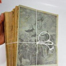 Militaria: LOTAZO . NUNCA APARECIDO! MEMORIAL DE INFANTERIA 1918 COMPLETO REVISTAS LIBROS MILITARES. Lote 130275354