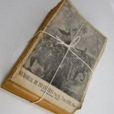 Militaria: LOTAZO . NUNCA APARECIDO! MEMORIAL DE INFANTERIA 1920 COMPLETO REVISTAS LIBROS MILITARES. Lote 130276914