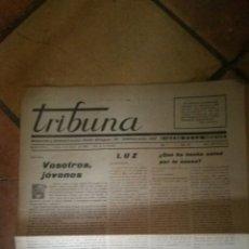 Militaria: TRIBUNA DIARIO DE LA NOCHE SABADELL 1939. Lote 130521474