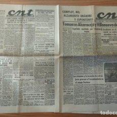 Militaria: CNT ASTURIAS, LEON Y PALENCIA 31 MARZO 1937 GUERRA CIVIL TOMA DE ALCARACEJO Y VILLANUEVA DEL DUQUE. Lote 130851844