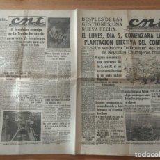 Militaria: CNT ASTURIAS, LEON Y PALENCIA 2 DE ABRIL 1937 GUERRA CIVIL NORTE DE GUADALAJARA, BATALLA LA TRECHA. Lote 130851988