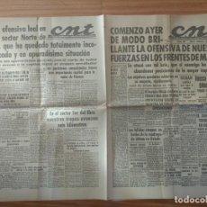 Militaria: CNT ASTURIAS, LEON Y PALENCIA 10 DE ABRIL 1937 GUERRA CIVIL HUESCA, FRENTE MADRID, OVIEDO, ETC. Lote 130852116