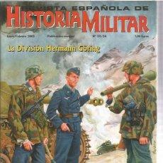 Militaria: REVISTA ESPAÑOLA HISTORIA MILITAR 55. Lote 130993972