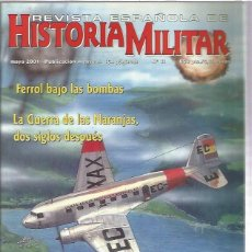 Militaria: REVISTA ESPAÑOLA HISTORIA MILITAR 11. Lote 130994372