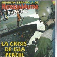 Militaria: REVISTA ESPAÑOLA HISTORIA MILITAR ESPECIAL PEREJIL. Lote 130994452