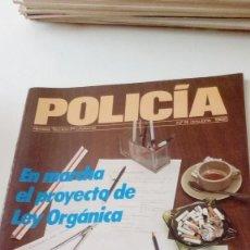 Militaria: TRAST. REVISTA POLICIA TECNICO-PROFESIONAL Nº 8 OCTUBRE 1985 EN MARCHA EL PROYECTO DE LEY ORGANICA . Lote 131094680