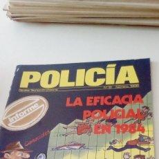 Militaria: TRAST. REVISTA POLICIA TECNICO-PROFESIONAL Nº 12 FEBRERO 1986 LA EFICACIA POLICIAL EN 1984 . Lote 131094724
