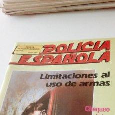 Militaria: TRAST. REVISTA POLICIA ESPAÑOLA Nº 248 LIMITACIONES AL USO DE ARMAS . Lote 131095528