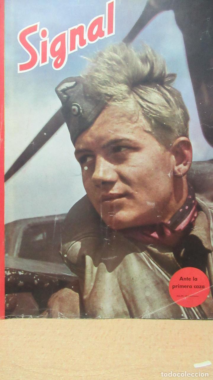 REVISTA SIGNAL EN ESPAÑOL.Nº 6 AÑO 1944 . TZ (Militar - Revistas y Periódicos Militares)