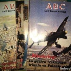 Militaria: VARIOS FASCÍCULOS (11 NÚMEROS) DE LA COLECCIÓN DE ABC SEGUNDA GUERRA MUNDIAL.. Lote 132238518