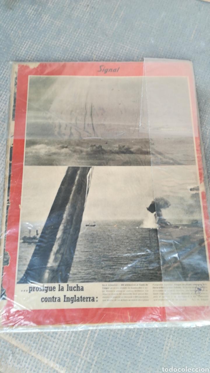 Militaria: Revista signal - Foto 2 - 132310478