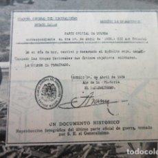 Militaria: ARTICULO 1962 - HACE 23 AÑOS CAUTIVO Y DESARMADO... FRANCO - 3 PAGINAS. Lote 132417598