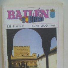 Militaria: CAPITANIA GENERAL DE SEVILLA : REVISTA DIANA , Nº 94 , 1985 . BAILEN.. Lote 195060263