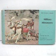 Militaria: LIBRO MILITARY MINIATURES ODYSSEY LIBRARY N.12 AÑO 1964 -CATALOGO MINIATURAS MILITARES SOLDADOS . Lote 133703378