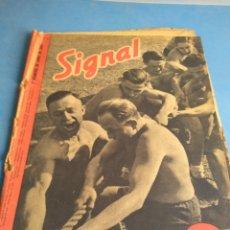 Militaria: REVISTA SIGNAL EDICIÓN ESPAÑOLA N'1 JUNIO DE 1943. Lote 133900991