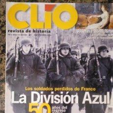 Militaria: CLIO, NÚMERO 30. 2004 PRISIONEROS DIVISIÓN AZUL . Lote 134377510