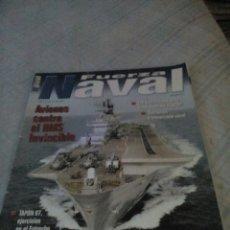 Militaria: REVISTA FUERZA NAVAL AÑO V VOL 6 NUMERO 58. Lote 134554015