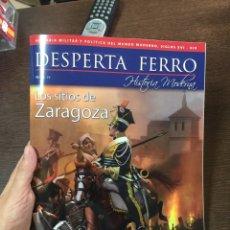 Militaria: DESPERTA FERRO MODERNA Nº36 LOS SITIOS DE ZARAGOZA. Lote 134896465