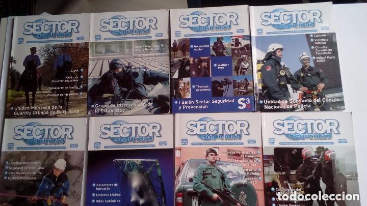 Militaria: SECTOR SEGURIDAD. LOTE DE 28 REVISTAS DEL PROFESIONAL DE LA SEGURIDAD DEL 8 AL 39 (2003-2004-2005) - Foto 2 - 135759530