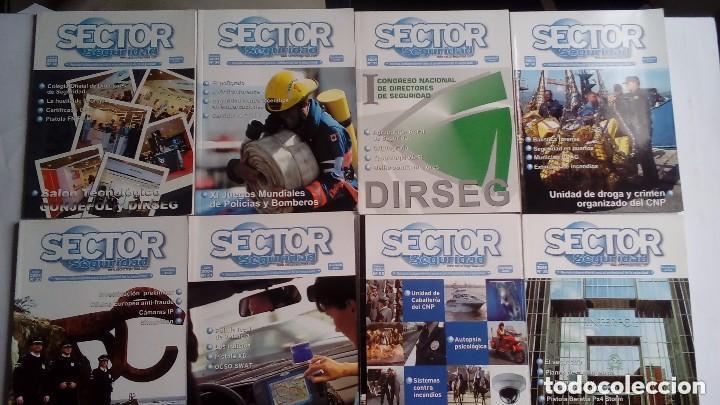 Militaria: SECTOR SEGURIDAD. LOTE DE 28 REVISTAS DEL PROFESIONAL DE LA SEGURIDAD DEL 8 AL 39 (2003-2004-2005) - Foto 4 - 135759530