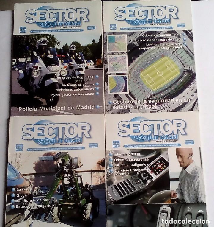Militaria: SECTOR SEGURIDAD. LOTE DE 28 REVISTAS DEL PROFESIONAL DE LA SEGURIDAD DEL 8 AL 39 (2003-2004-2005) - Foto 5 - 135759530