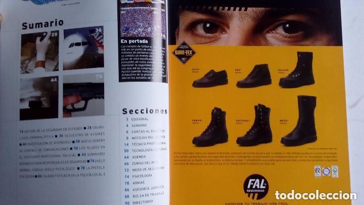 Militaria: SECTOR SEGURIDAD. LOTE DE 28 REVISTAS DEL PROFESIONAL DE LA SEGURIDAD DEL 8 AL 39 (2003-2004-2005) - Foto 7 - 135759530