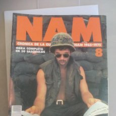 Militaria: NAM. CRONICA DE LA GUERRA DE VIETNAM 1965 - 1975. FASCICULO Nº 8. PLANETA AGOSTINI. 1988. Lote 135846554