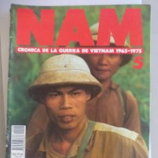 Militaria: NAM. CRONICA DE LA GUERRA DE VIETNAM 1965 - 1975. FASCICULO Nº 5. PLANETA AGOSTINI. 1988. Lote 135846698