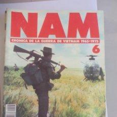 Militaria: NAM. CRONICA DE LA GUERRA DE VIETNAM 1965 - 1975. FASCICULO Nº 5. PLANETA AGOSTINI. 1988. Lote 135846962