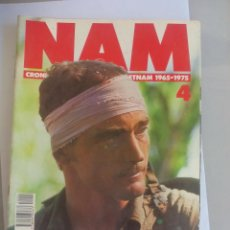 Militaria: NAM. CRONICA DE LA GUERRA DE VIETNAM 1965 - 1975. FASCICULO Nº 4. PLANETA AGOSTINI. 1988. Lote 135847274