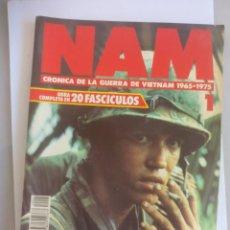 Militaria: NAM. CRONICA DE LA GUERRA DE VIETNAM 1965 - 1975. FASCICULO Nº 1. PLANETA AGOSTINI. 1988. Lote 135847578
