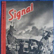 Militaria: SIGNAL. 1941. Nº 22. ESPAÑOL. Lote 136489366