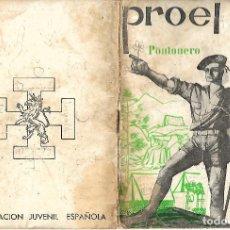 Militaria: ORGANIZACION JUVENIL ESPAÑOLA PROEL EL PONTONERO Nº 4. Lote 137302938