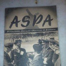 Militaria: REVISTA ASPA N 127 AÑO 1942. Lote 137480948