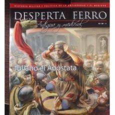 Militaria: DESPERTA FERRO ANTIGUA Y MEDIEVAL Nº29 JULIANO EL APÓSTATA. Lote 137713613