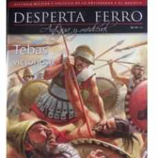 Militaria: DESPERTA FERRO ANTIGUA Y MEDIEVAL Nº37 TEBAS VICTORIOSA. Lote 137714738