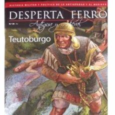 Militaria: DESPERTA FERRO ANTIGUA Y MEDIEVAL Nº39 TEUTOBURGO. Lote 137718521