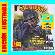 Militaria: SOLDIERS RAIDS 3 - 75 ANIVERSARIO LEGIÓN ESPAÑOLA - TERCIO - FUERZAS ESPECIALES US ARMY. Lote 138676722