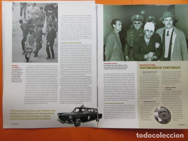 Militaria: ARTICULO 2010 - EL GRAN TORTURADOR FRANQUISTA COMISARIO ANTONIO JUAN CREIX - 6 PAGINAS - Foto 2 - 139529422