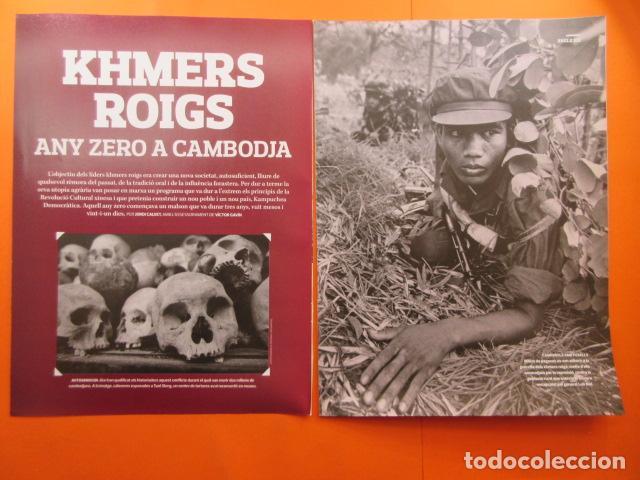 ARTICULO 2010 - KHMERS JEMRES ROJOS CAMBOIA - 8 PAGINAS (Militar - Revistas y Periódicos Militares)