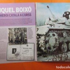 Militaria: ARTICULO 2010 - MIQUEL BOIXO COLUMNA CARLES MARX EJERCITO ROJO CRIMEA GUERRA MUNDIAL - DALI Y HERGER. Lote 139529646