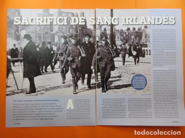 ARTICULO 2010 - SACRIFICIO SANGRE IRLANDES 1916 REVUELTA DE PASCUA - 6 PAGINAS (Militar - Revistas y Periódicos Militares)