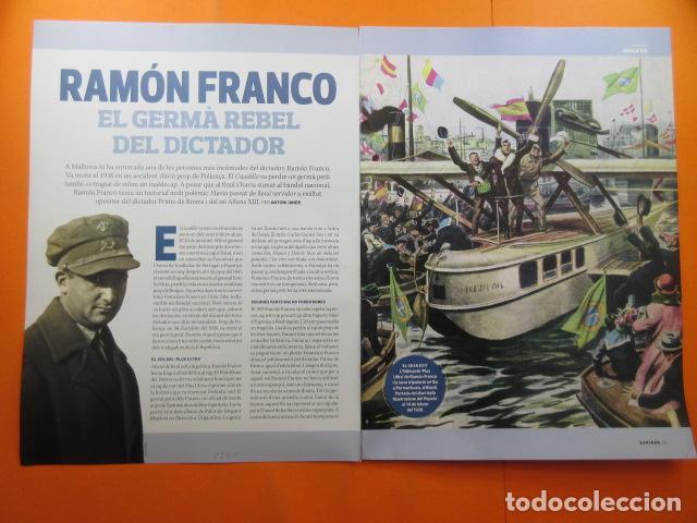 ARTICULO 2010 - RAMON FRANCO EL HERMANO - 5 PAGINAS (Militar - Revistas y Periódicos Militares)
