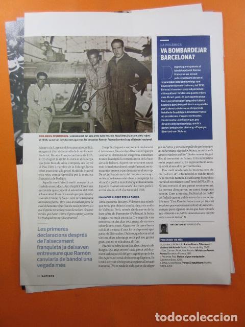 Militaria: ARTICULO 2010 - RAMON FRANCO EL HERMANO - 5 PAGINAS - Foto 2 - 139531002