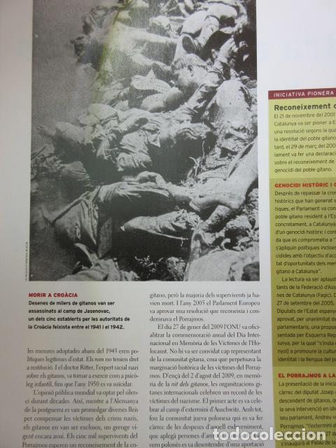 Militaria: ARTICULO 2010 - HISTORIA DEL PUEBLO GITANO INCREIBLES FOTOS GENOCIDIO 2ª GUERRA MUNDIAL - 26 PAGINAS - Foto 3 - 139531418