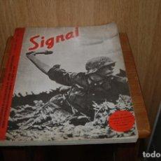 Militaria: OCTAVUS.REVISTA SIGNAL JULIO 1941.NUMERO 2.EDITADA 1980.RECOPILACION GRAFICA DE LA REVISTA SIGNAL.. Lote 139717294