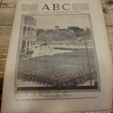 Militaria: ABC 19 DE DICIEMBRE DE 1937, SEVILLA,30 PAGINAS, AVILA,OSUNA, LA LINEA DE LA CONCEPCION,ETC..... Lote 139872006