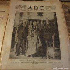 Militaria: ABC 15 DE OCTUBRE DE 1937, SEVILLA,22 PAGINAS, OCUPACION DE ARRIONDAS,PEÑALAZA,ESPIEL,ETC..... Lote 139937958